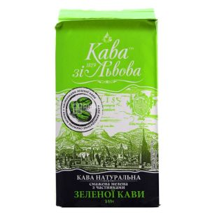 Kava zі Lviv, Ground coffee, with particles of green coffee, 240 g