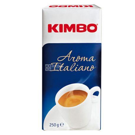 Kimbo Aroma Italiano, 250 г, Кофе Кимбо Арома Италиано, средней обжарки, молотый