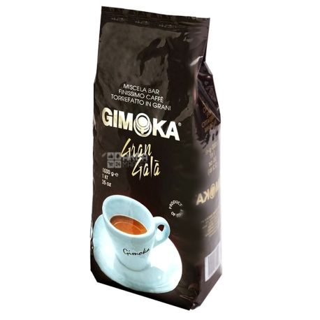 Gimoka Gran Gala, 1 кг, Кава Джімока Гран Гала, середнього обсмаження, в зернах