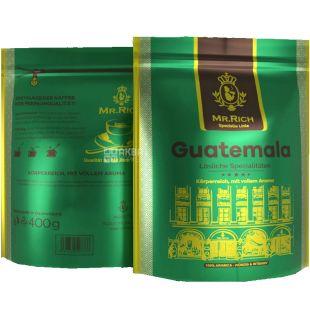 Mr.Rich, Guatemala, 400 г, Растворимый кофе, Гватемала