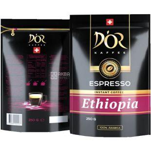 D'OR, Espresso Ethiopia, 250 г, Кофе Эспрессо Эфиопия, растворимый
