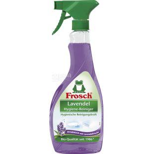 Frosch, Лаванда, 500 мл, Средство для чистки ванной комнаты