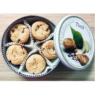 Jacobsens, Tivoli, 150 г, Печенье масляное с шоколадом и грушей, ж/б