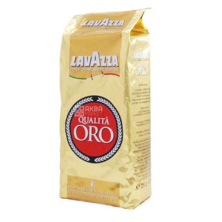 Lavazza Qualita Oro Original, Кофе в зернах, 250 г