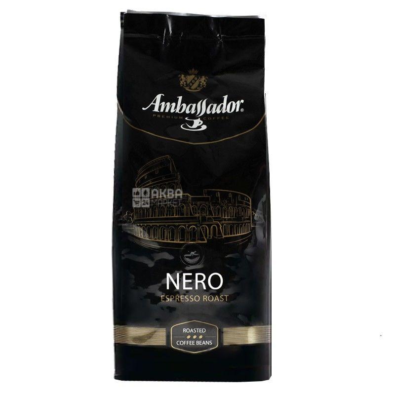 Ambassador Nero,  1 кг, Кофе в зернах Амбассадор Неро