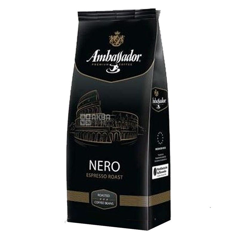 Ambassador Nero, 1 кг, Кава в зернах Амбассадор Неро