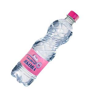 Джерело Якова, 0,5 л, слабогазована вода, ПЕТ, ПЕТ