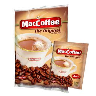 MacCoffee Original, 3 в 1, 25 шт. х 18 г, Кава МакКофе Оріджінал, розчинний, в стіках