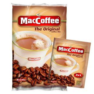 MacCoffee, 25 шт., розчинна кава, Original 3в1