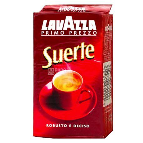 Lavazza, Suerte, 250 г, Кава Лаваца, Сіетре, середнього обсмаження, мелена