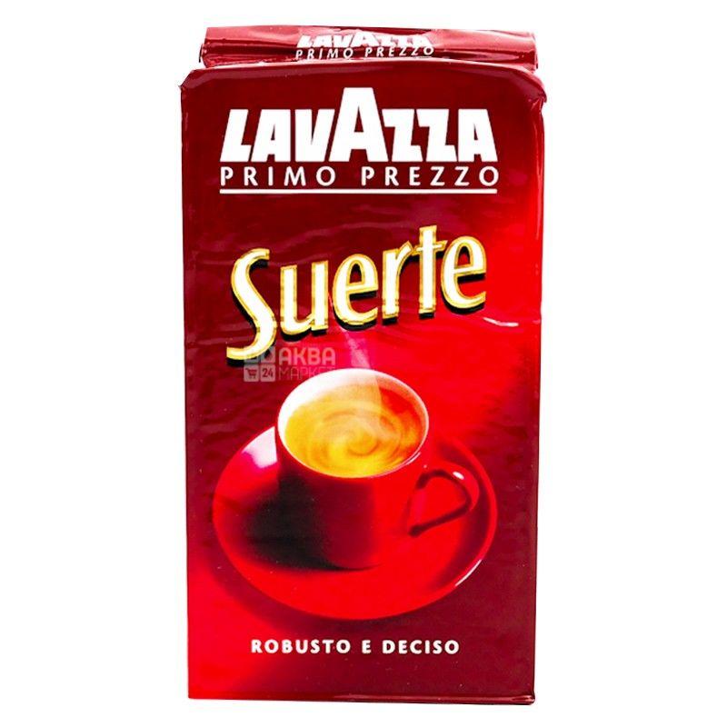 Lavazza, Suerte, 250 г, Кофе Лавацца, Сиетре, средней обжарки, молотый