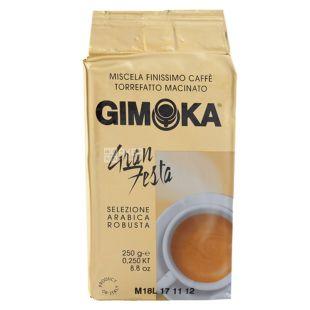 Gimoka Gran Festa, 250 г, Кава Джімока Гран Феста, середнього обсмаження, мелена