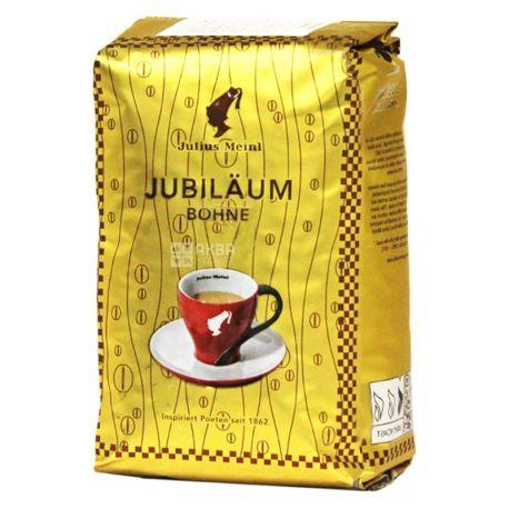 Julius Meinl Ювілейний, 500 г, Кава Юліус Мейнл, середнього обсмаження, в зернах