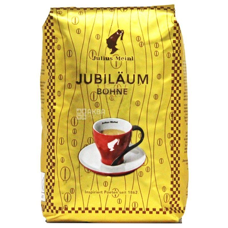 Julius Meinl Юбилейный, 500 г, Кофе Юлиус Мейнл, средней обжарки, в зернах