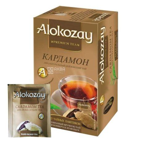 Alokozay, 25 шт., Чай чорний, Кардамон