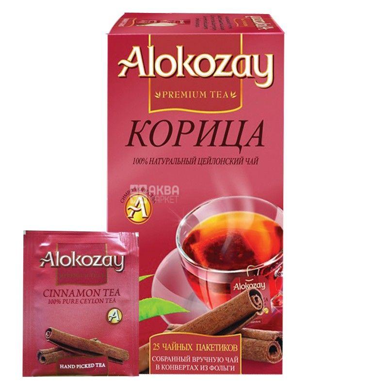 Alokozay, 25 шт., чай черный, с корицей