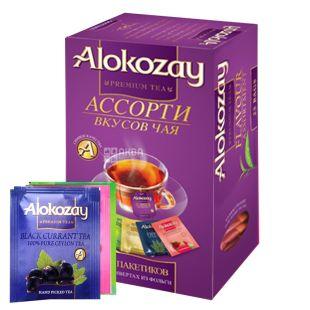 Alokozay, 25 пак, Чай фруктовий Алокозай, Асорті