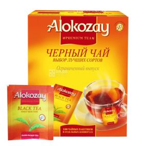 Alokozay, 100 шт., чай черный