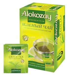 Alokozay, 25 units, green tea