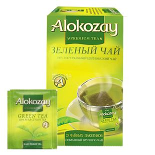 Alokozay, 25 шт., чай зелений
