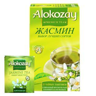 Alokozay, 25 units, green tea with jasmine