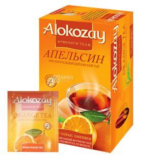 Alokozay, 25 шт., чай чорний, з апельсином