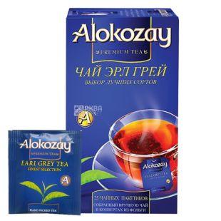 Alokozay, 25 пак, Чай черный Алокозай, Эрл Грей, с бергамотом