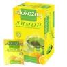 Alokozay, 25 пак, Чай зелений Алокозай, з лимоном
