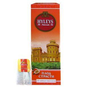 Hyleys Passion Fruit Tea, 25 пак, Чай черный Хэйлис Пэшн Фрут Ти, Плод Страсти, Маракуйя