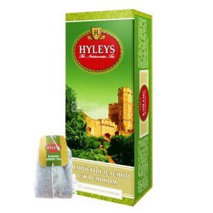Hyleys English Green Jasmine, 25 пак, Чай зеленый Хэйлис Инглиш Грин Жасмин