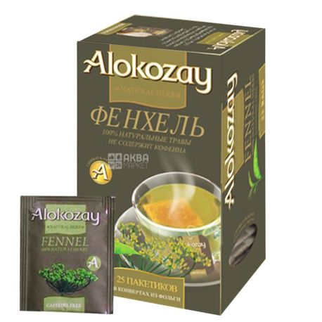 Alokozay, 25 шт., чай травяной, с фенхелем