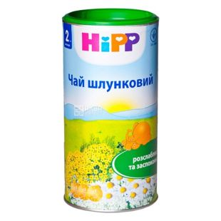 HiPP, Шлунковий, 200 г, Чай Хіпп, дитячий, тубус