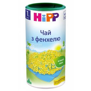 HiPP, 200 г, чай, дитячий  з фенхелю