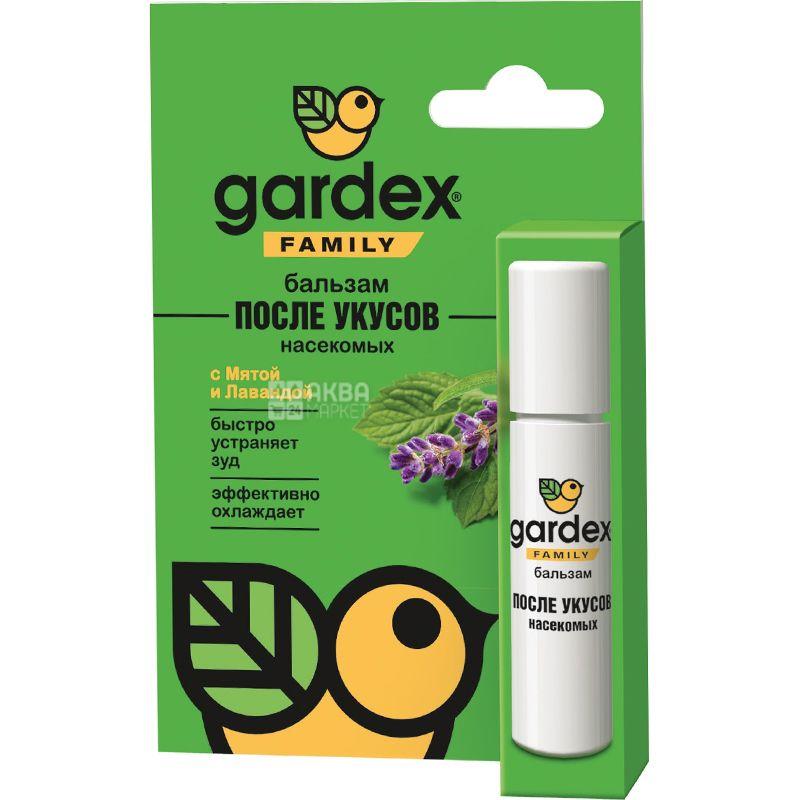 Gardex family, 7 мл, Бальзам после укусов комаров, роликовый