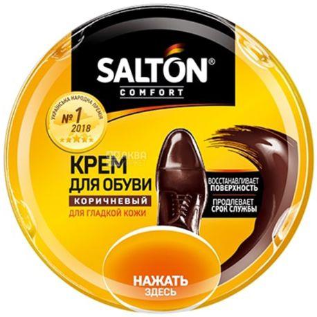 Salton, 50 ml, shoe polish, Brown, w / w