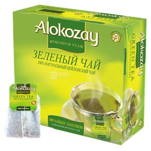 Alokozay, 100 шт., чай зеленый
