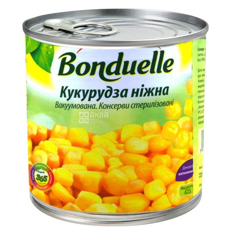 Bonduelle, 425 мл, кукурудза, ніжна
