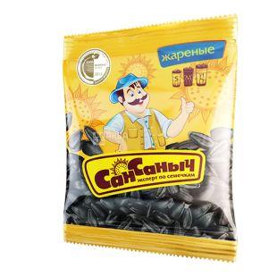 Сан Санич, 80 г, насіння,  соняшникове смажене