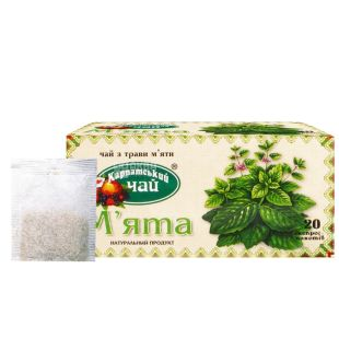Карпатский, 20 шт., чай травяной, Мята