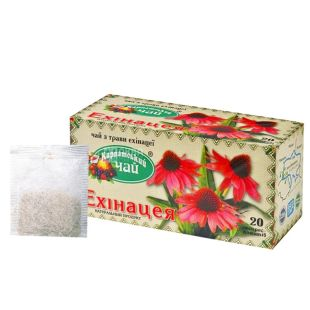 Карпатський  20 шт., чай трав'яний, ехінацея