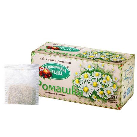 Карпатський, 20 шт., чай трав'яний, Ромашка