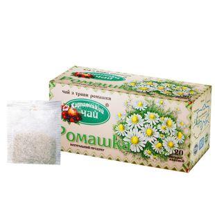 Карпатский, 20 шт., чай травяной, Ромашка