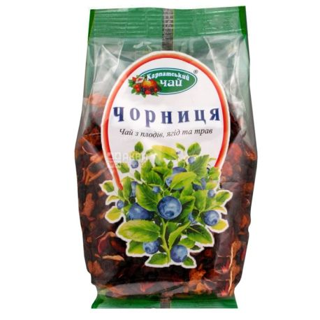 Карпатський, 100 г, чай, чорниця