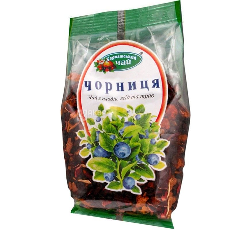 Carpathian, 100 g, tea, blueberries