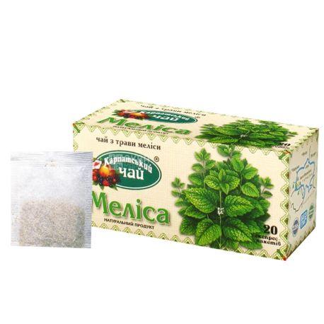 Карпатський, 20 шт., чай, меліса