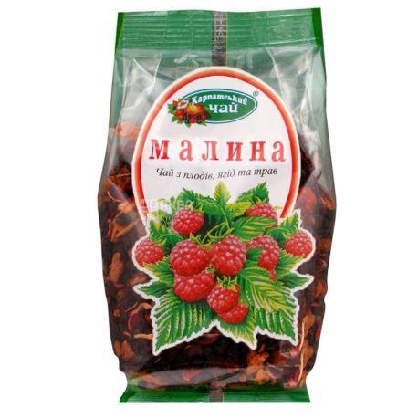 Карпатский, 100 г, чай, малина