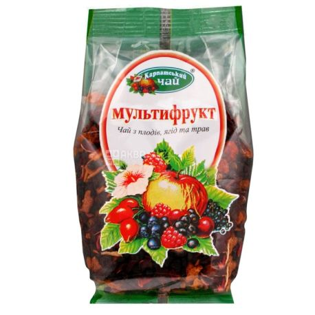 Карпатский, 100 г, чай, мультифрукт