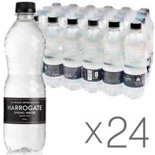 Harrogate, 0,5 л, Упаковка 24 шт., Харрогейт, Вода мінеральна негазована, ПЕТ