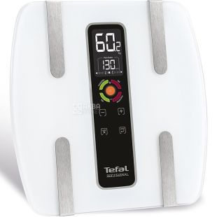 Tefal BM7100S6, electronic, floor scales, up to 160 kg