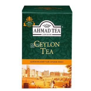 Ahmad Tea Ceylon Orange Pekoe, 100 г, Чай черный Ахмад Ти Цейлон Оранж Пекое